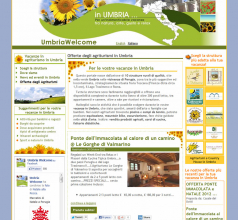 Umbria Welcome restyling 2012