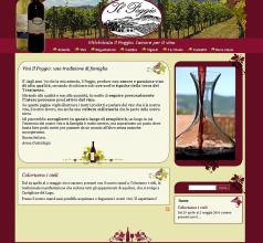 Prima versione del sito (2010)